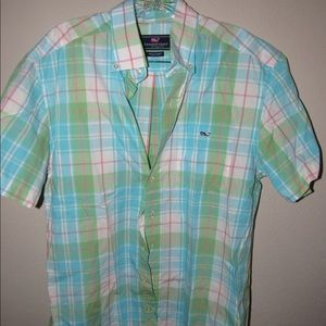 Short Sleeve Whale Shirt Vineyard Vines